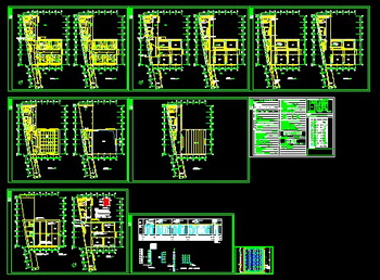 Teaching building electric facilities map