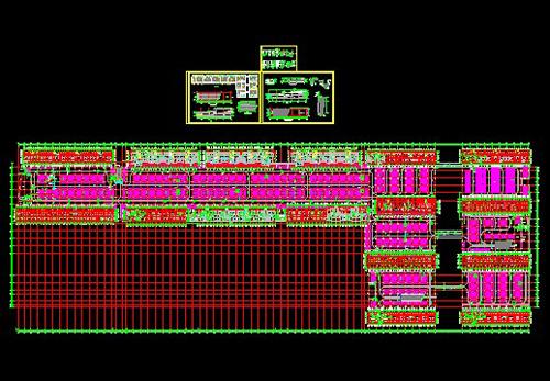 Garage CAD plans and detail nodes