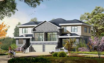 European-style villa with a basement-2