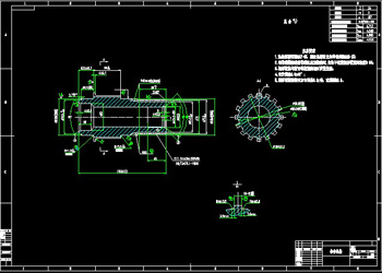 Bevel gear axles CAD drawings
