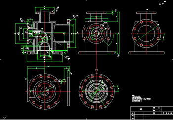 Four-pass shell welding CAD drawings-1