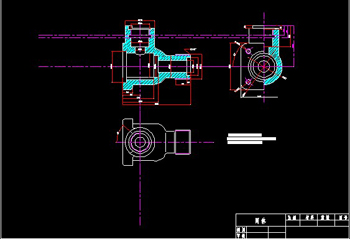 Valve body CAD drawings-1