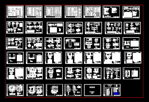 Large Construction Hospital Autocad Plan Free Download