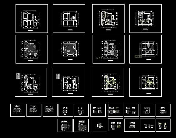 Jump layer CAD decoration design