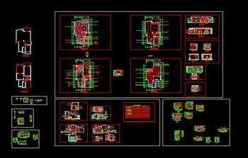 CAD design home decoration