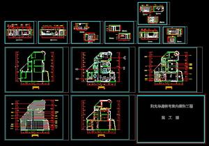 Decoration interior decoration CAD Map