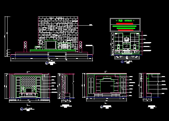 Wall Art Autocad Block : Tv wall free download