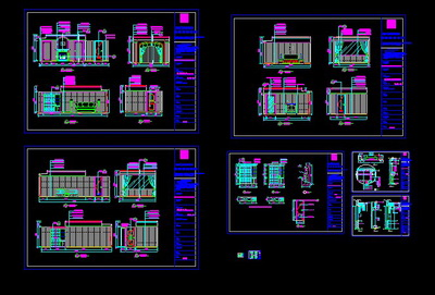 The Five Star Hotel Architectural Decoration Full Cad