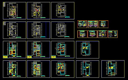 All the more fitting name of House room CAD chart