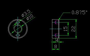Nut CAD drawings -2