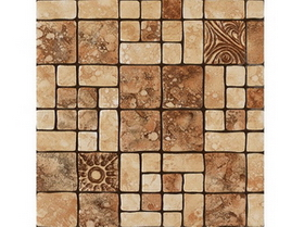 Personalized art tile map A-10 Zhang