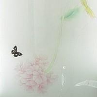 Beautiful butterflies glass textures