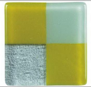 Green and gray squares portfolio glass bricks texture