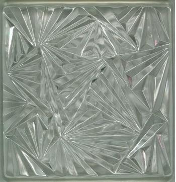 Transparent ice texture glass tiles texture