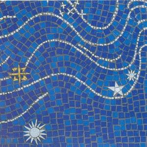 Art Mosaic map