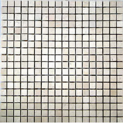 Transparent polygon mosaic 3D texturing