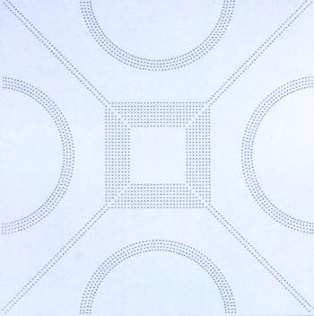 Metal ceiling textures