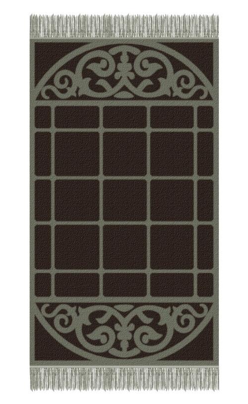 Brown carpet fabric material