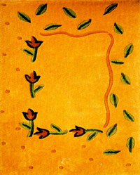 Pastoral flowery cloth marks(5)