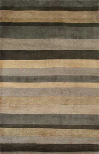 Striped wood flooring material