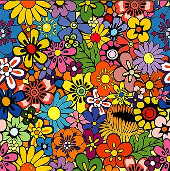 พื้นหลังดอกไม้น่ารัก