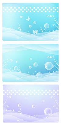 Mariposa sueño burbuja