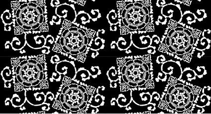 Vector fondo en mosaico tradicional material-5