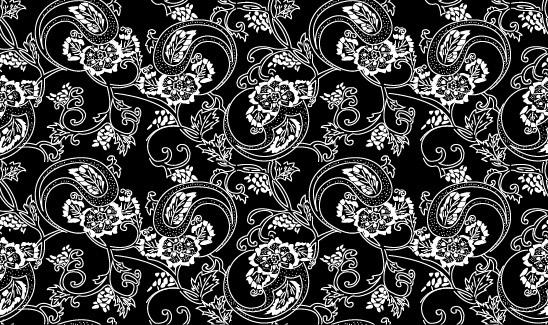ベクトル伝統的なタイル張りの背景素材-6