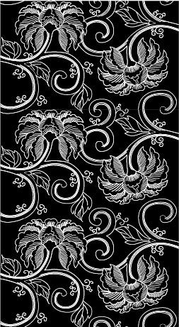 Vector fondo en mosaico tradicional material-13