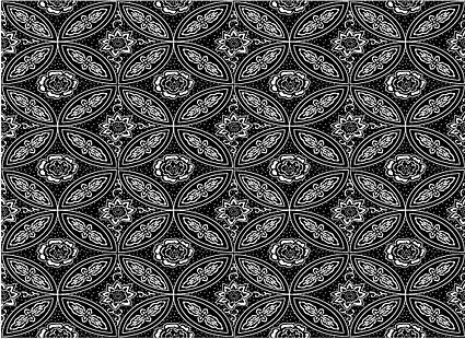 Vector fondo en mosaico tradicional material-15