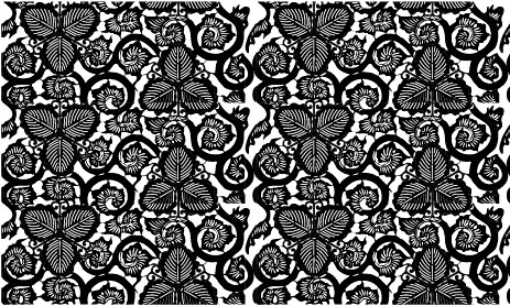 ベクトル伝統的なタイル張りの背景素材-17