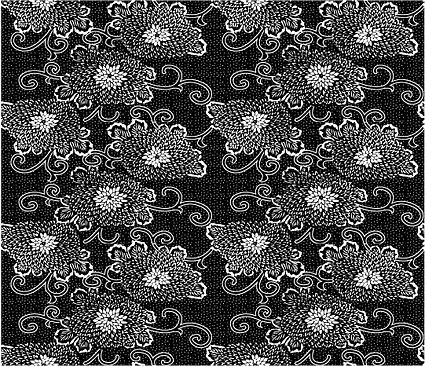 ベクトル伝統的なタイル張りの背景素材-20