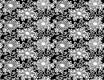 Vektor traditionellen Gekachelte Hintergründe Material-23