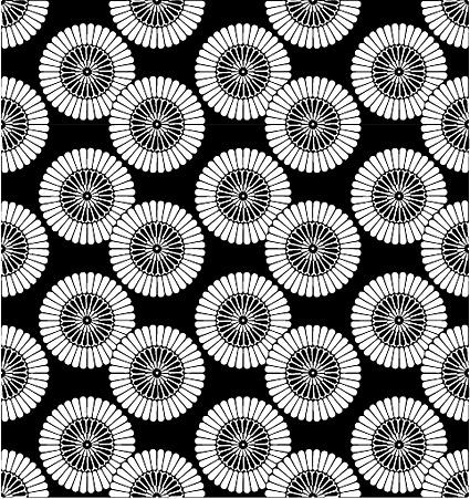 ベクトル伝統的なタイル張りの背景素材-31
