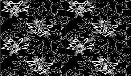 ベクトル伝統的なタイル張りの背景素材-40