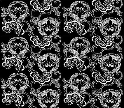 Material de fundo em mosaico tradicional vector-46