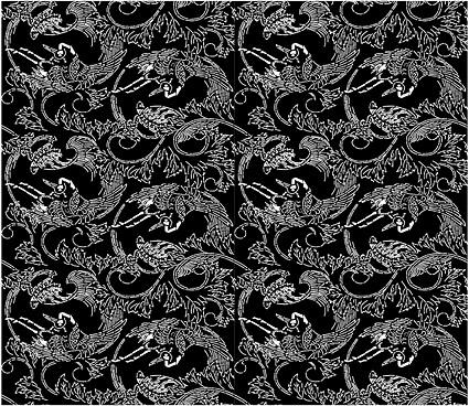 Vector fondo en mosaico tradicional material-47