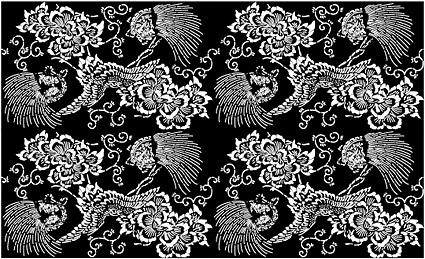 ベクトル伝統的なタイル張りの背景素材-48