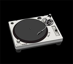 Disco de vinilo DJ