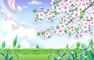 Rande der Blütenblätter flattern