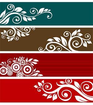Praktische Mode-Muster-Vektor-material