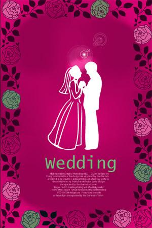 Rose-Hochzeit