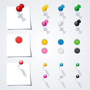 Notas de vectores de material de papel y Tai Touzhen