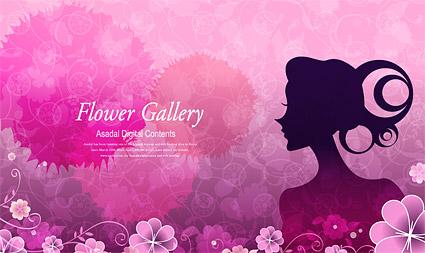 Fleur et la beauté des vecteurs matériel-4