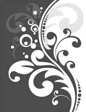Material de vectores de patrón de moda