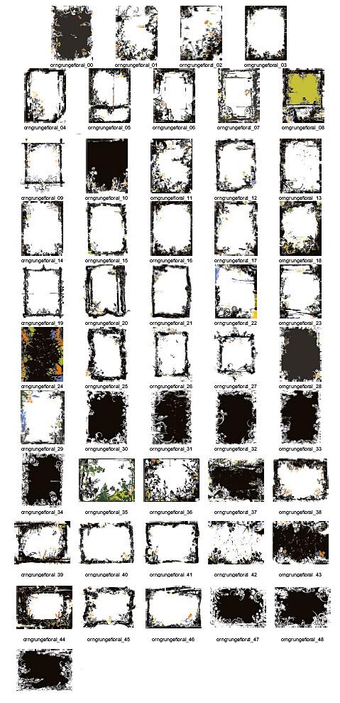 Fondo patrón (50 P)-500, bello y práctico diseño elementos vectoriales serie del borde