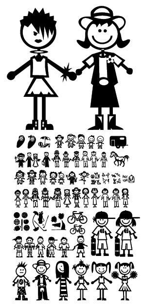 Partidos de personajes adorables