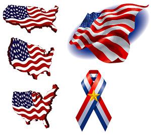 米国旗の要素