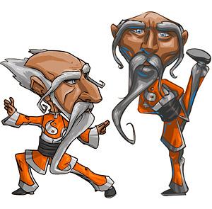 Estilo cómico de ancianos de kung fu