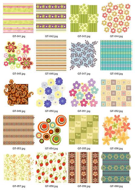 GreenTea Material Vektor Kampagnenmaterial 041-060